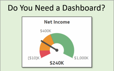 5 Questions to Help You Decide If You Need A Dashboard